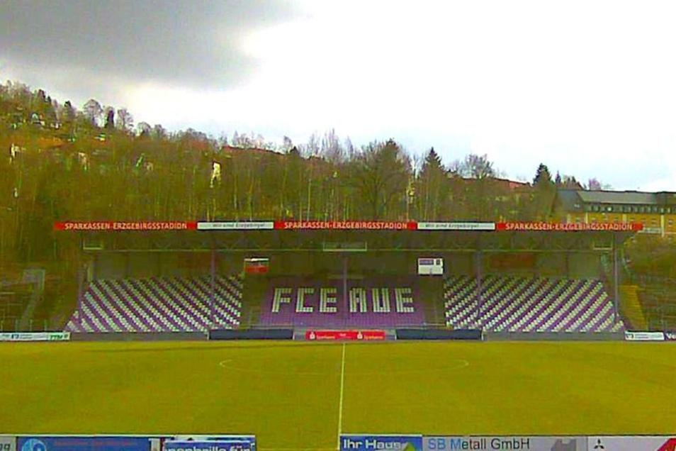 Erzgebirge Aue Stadion Cam