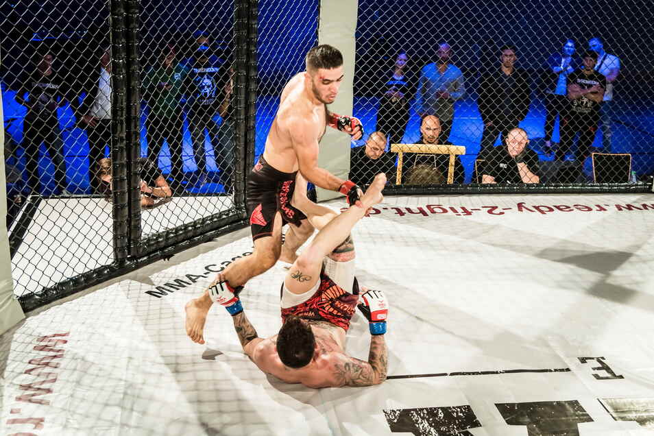 Vollen Körperkontakt versprechen die Macher des MMA-Live-Turniers, das Sonnabend in Riesa stattfindet.