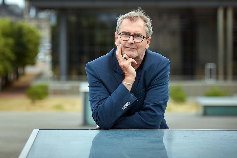 Kurt Drawert war 2018 Stadtschreiber in Dresden. Diese Zeit arbeitet er jetzt in seinem neuen und hoch politischen Buch auf.