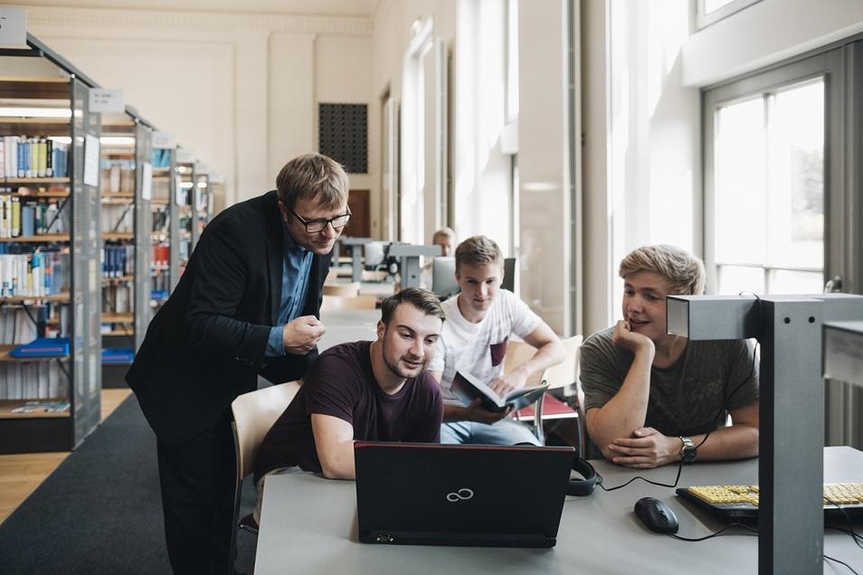 Studienalltag an der BA in Riesa – individuelles Lernen im Team