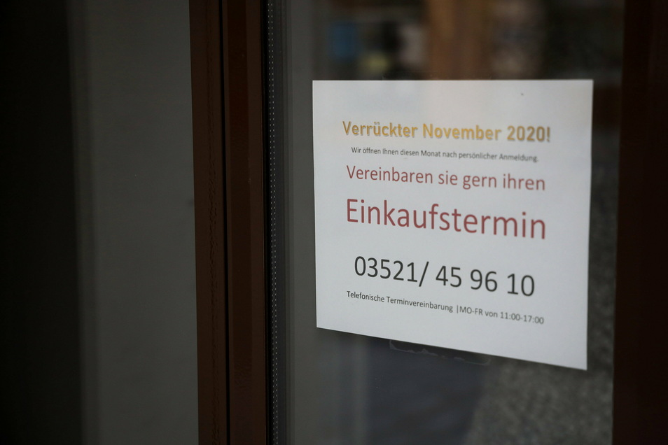 Die Boutique Zauberwald nebenan öffnet nur noch auf Anruf.