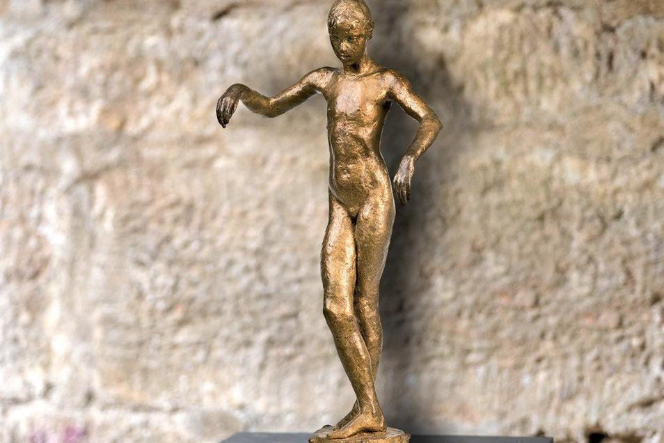 """Kunstwerk """"Giulietta"""": Die Figur ist ab Pfingsten beim Pirnaer Skulpturensommer zu sehen."""