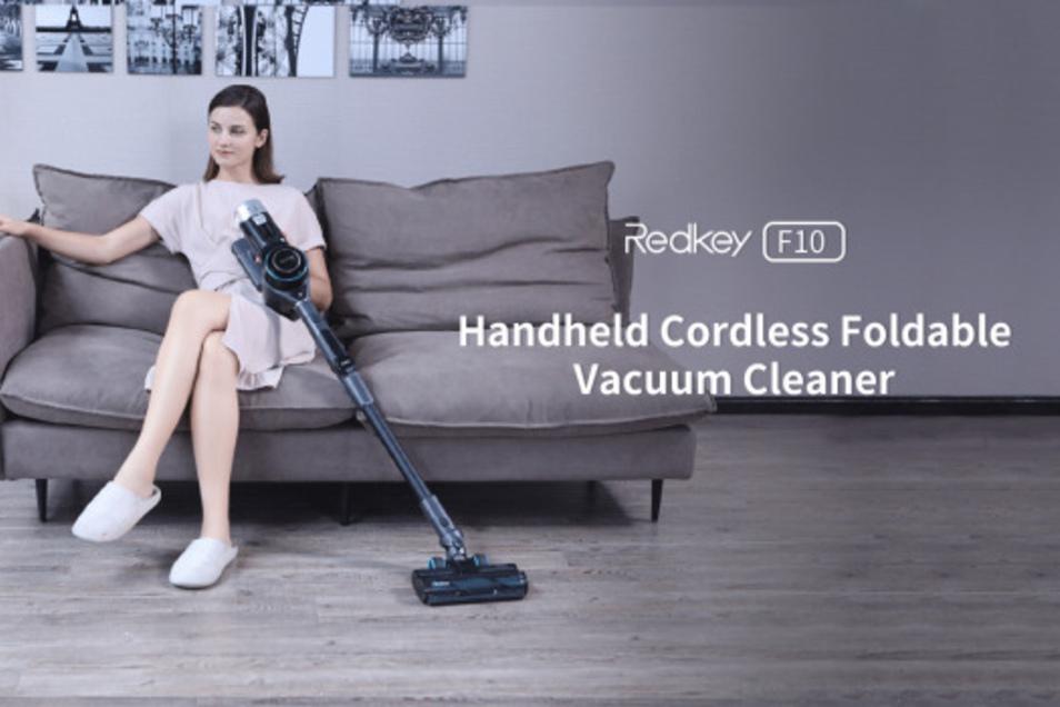 Der kabelloste Staubsauger Redkey F10 überrascht die Branche.
