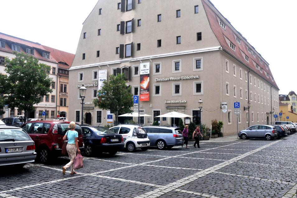 Die Christian-Weise-Bibliothek Zittau.