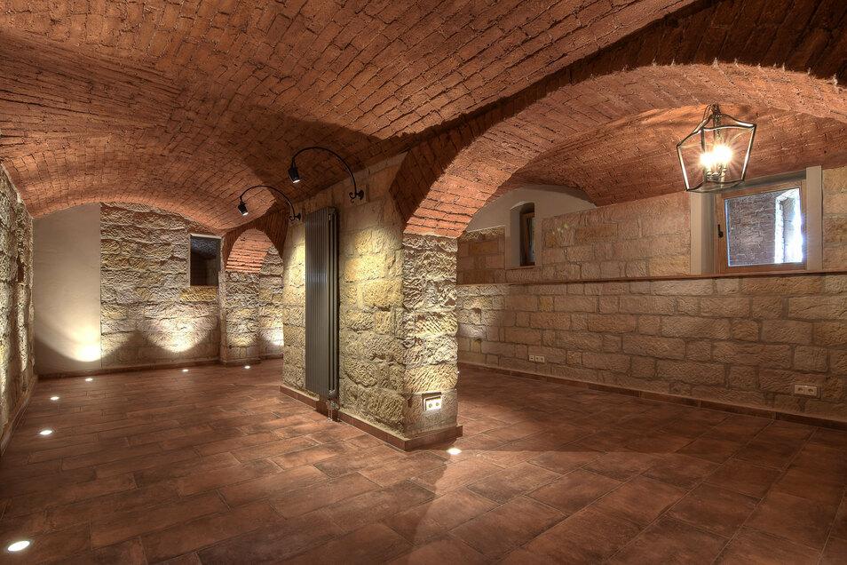 Die Keller waren besonders aufwendig zu sanieren, denn sie wurden in den vergangenen Jahrzehnten nicht genutzt und waren deshalb nicht abgedichtet.