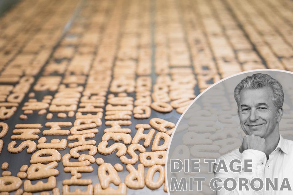 """Die Situation mit Corona in Sachsen sei """"belämmrd"""", schreibt ein SZ-Leserin an Peter Ufer. Oder ist sie doch """"vorhunzd""""?"""