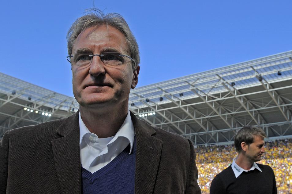 Steffen Heidrich bestritt für Dynamo zwischen 2001 und 2008 insgesamt 88 Spiele und erzielte 21 Tore. Er war nach seiner Karriere als Profi zunächst Teammanager bei den Schwarz-Gelben, hat danach bei Energie Cottbus und Erzgebirge Aue als Sportdirektor ge