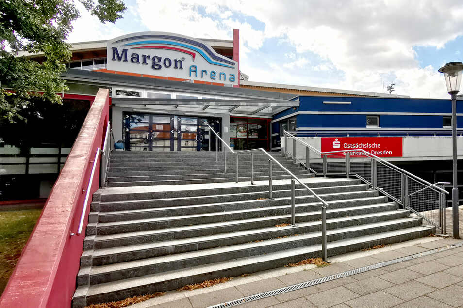 Noch betreibt der Stadtsportbund die Margon-Arena an der Bodenbacher Straße. Das soll sich allerdings im kommenden Jahr ändern.