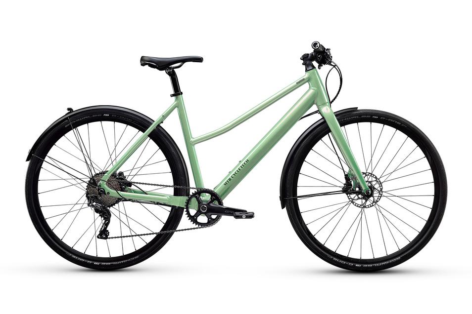 Alltagsrad: Manchem E-Bike sieht man die elektrische Kraft nicht an. Beim Souplesse GRX Lady von Cycletech sitzt der Motor in der Hinterradnabe und der 250-Wattstunden-Akku im Unterrohr. Preis: ab 3.219 €