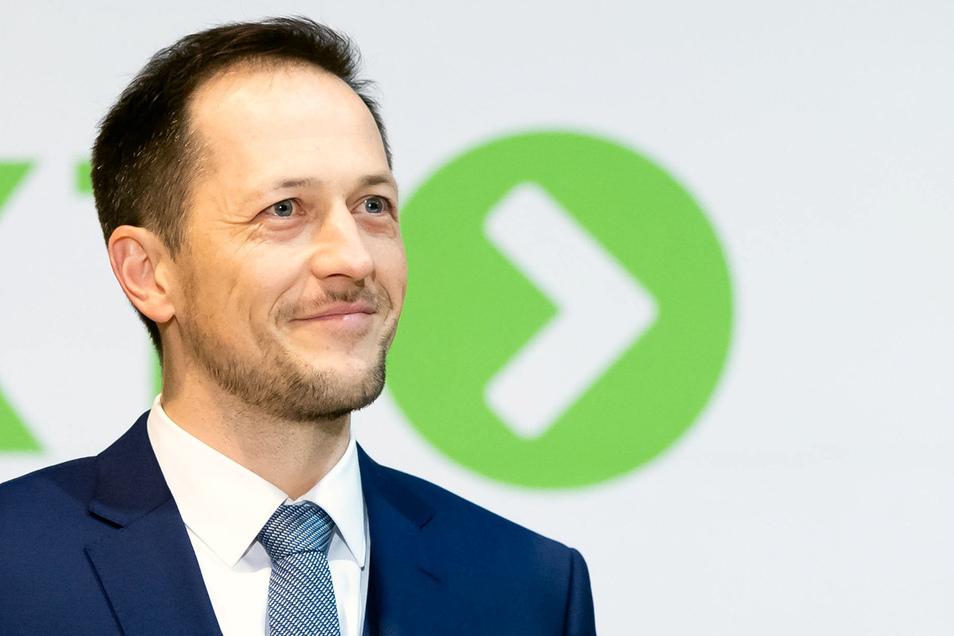 Thomas Kunack: Bad Schandaus Bürgermeister hat zum ersten Mal ein Brautpaar getraut.