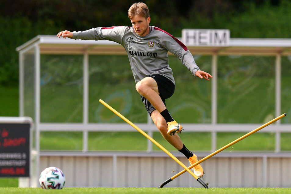Aufhalten lassen will sich Patrick Weihrauch von keinem Hindernis. In Dresden möchte der Champions-League-Sieger von 2013 endlich wieder mehr Einsätze bekommen.
