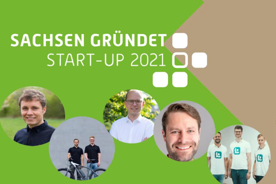 Fünf Gründer wollen Sachsens bestes Start-ups werden