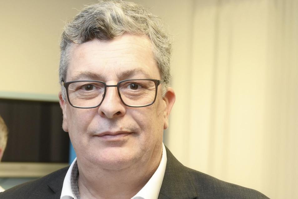 Carsten Hütter (AfD) ist Landtagsabgeordneter für Riesa und Bundesschatzmeister seiner Partei.
