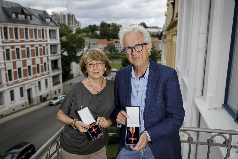 Anna und Christoph Heise erhielten am 3. Juli 2020 das Bundesverdienstkreuz.
