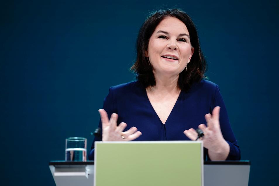 Die Grünen-Vorsitzende Annalena Baerbock soll ihre Partei als Kanzlerkandidatin in die Bundestagswahl führen.