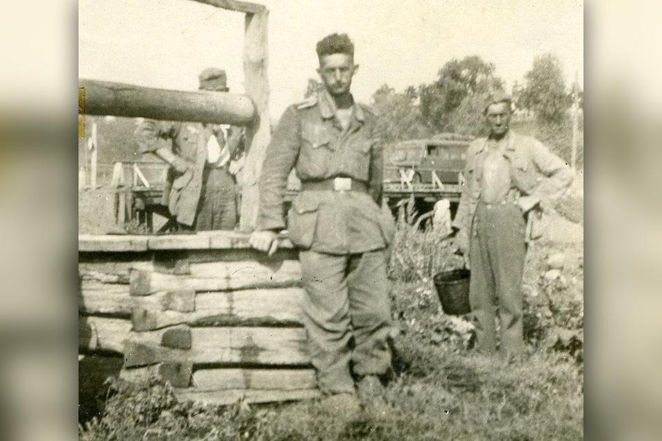 Knapp entkommen: Marcel Weise überlebt die Einkesselung seiner Kompanie durch sowjetische Panzer. Die Flucht aber geht weiter.