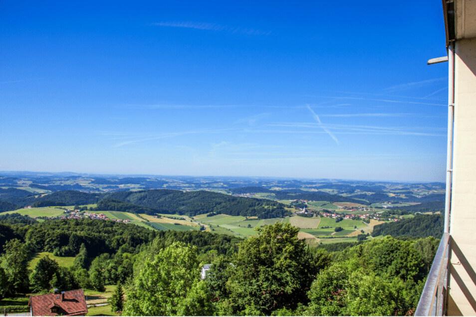 Im Ferienpark Geyersberg bekommt man neben seinem Traumurlaub auch noch den Traumblick dazu.