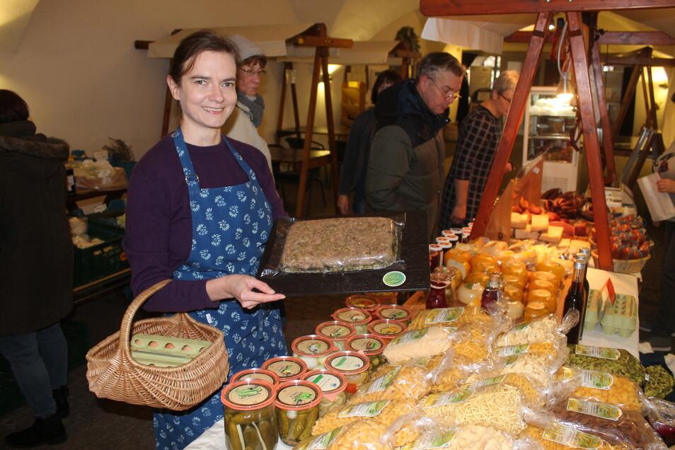"""Mit ihrem Blog """"Ein Korb voll Glück"""" will Anja Nixdorf-Munkwitz Konsumenten für regionale Produzenten und Produkte begeistern."""