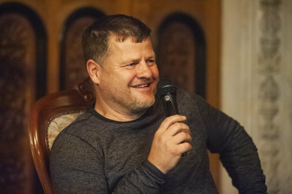 Matthias Maucksch ist bei Talkrunden ein gerngesehener Gast.