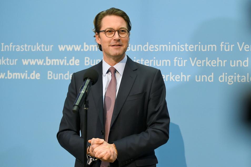 """Bundesverkehrsminister Andreas Scheuer: """"Ein Riesendurchbruch"""""""