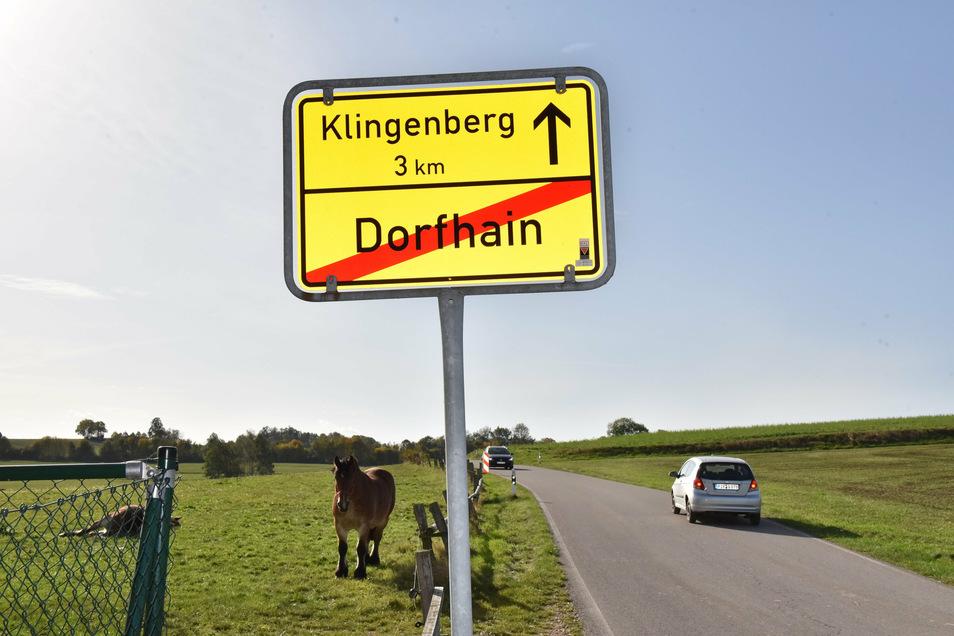 Familien willkommen: Dorfhain am Rande des Tharandter Waldes soll Baugebiete bekommen.