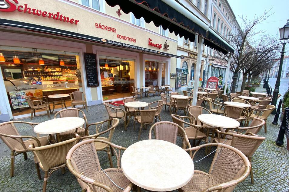 Cafe Schwerdtner, Nicolaistraße Löbau.