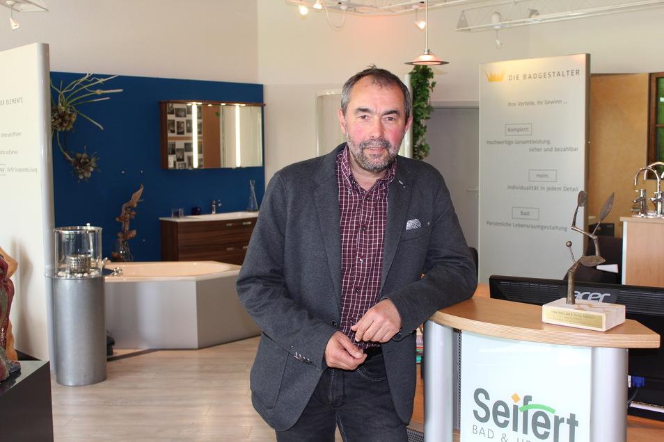 Michael Seifert wurde als Obermeister der Innung Sanitär, Heizung, Klimatechnik bestätigt.