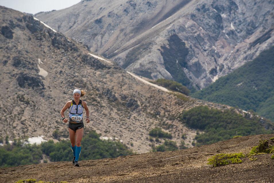 Sie läuft gern in den Bergen. Laura Dahlmeier startete 2019 bei der Langstrecken-Weltmeisterschaft.