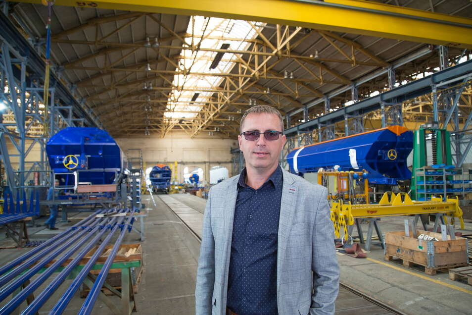 Matus Babik ist wieder Geschäftsführer der ELH Waggonbau Niesky GmbH. Schon von Anfang 2019 bis Oktober 2020 hatte er diese Position inne.