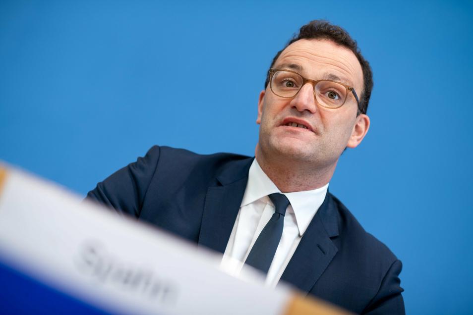 """AOK Plus-Chef Striebel über Bundesgesundheitsminister Jens Spahn (CDU): """"Er hat erkannt, dass die Strukturen im deutschen Gesundheitswesen aufgebrochen werden müssen. Leider ist ihm das nicht gelungen, trotz vieler Milliarden Euro."""""""