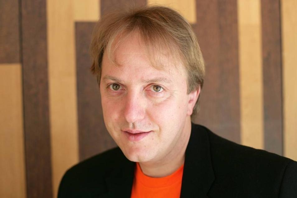 Der Chemnitzer Experimentalarchäologe Dominique Görlitz.