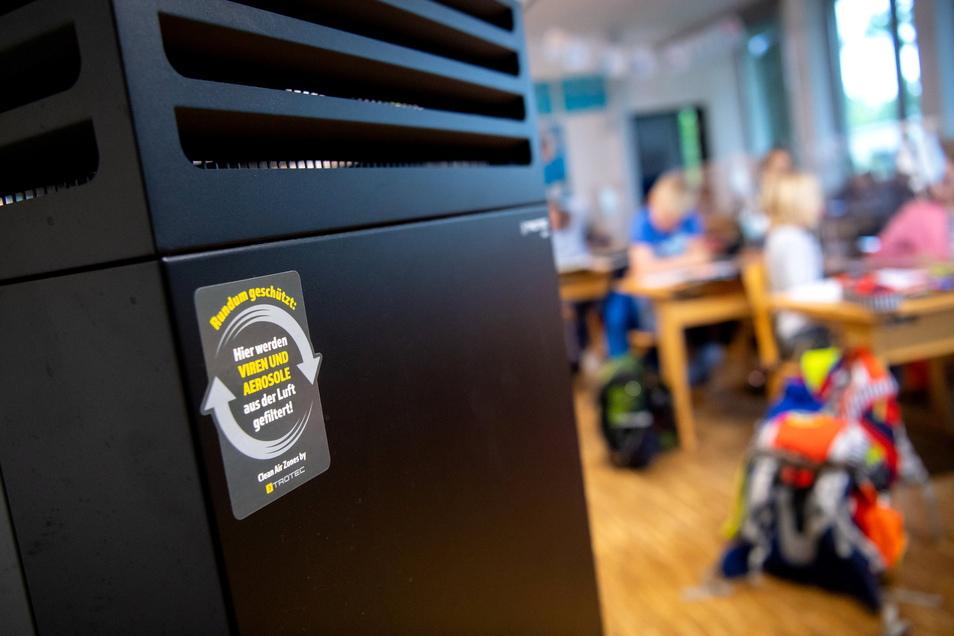 Der Bund möchte die Schulen für 200 Millionen Euro mit Luftreinigern ausstatten. Im Kreis Meißen ist das Geld nicht unbedingt willkommen.