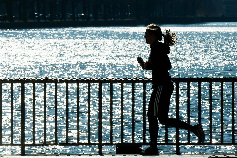 Laufen für einen guten Zweck: Die Mitarbeiter des Pirnaer Klinikums können Kilometergeld sammeln.