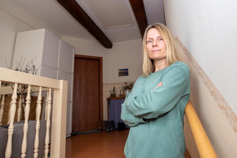 """Jana Seidel aus Pirna: """"Ich bin strikt gegen die Corona-Selbsttests bei Kindern."""""""