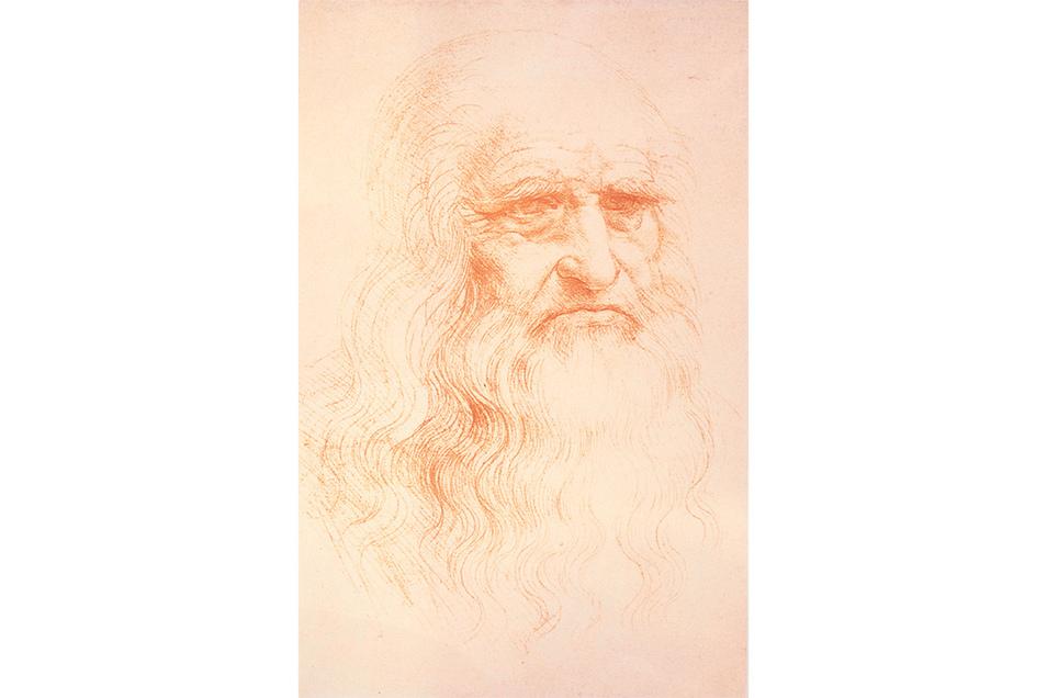 Alter Mann, angeblich ein Selbstporträt