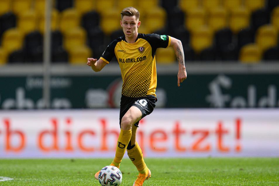 Erst zurück nach Berlin, nun wieder nach Dresden: Nach einem Wechselchaos wird Julius Kade auch in der kommenden Saison für Dynamo auflaufen.