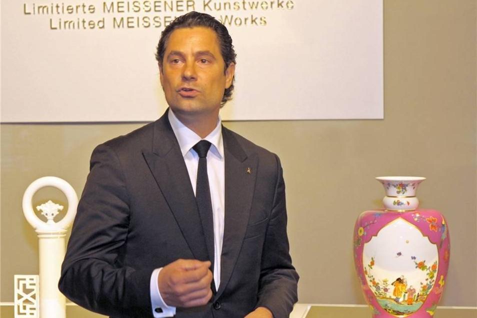 Meissen-Geschäftsführer Christian Kurtzke.