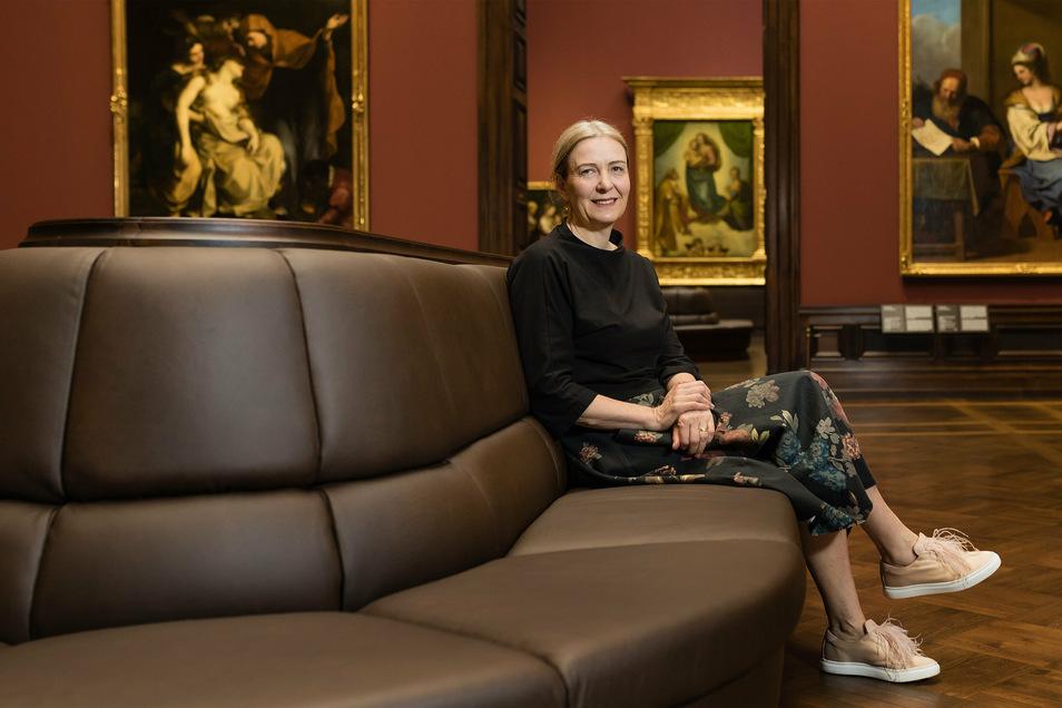 Marion Ackermann, Generaldirektorin der Staatlichen Kunstsammlungen, muss um rund 180 ihrer Mitarbeiter mit Zeitverträgen bangen.