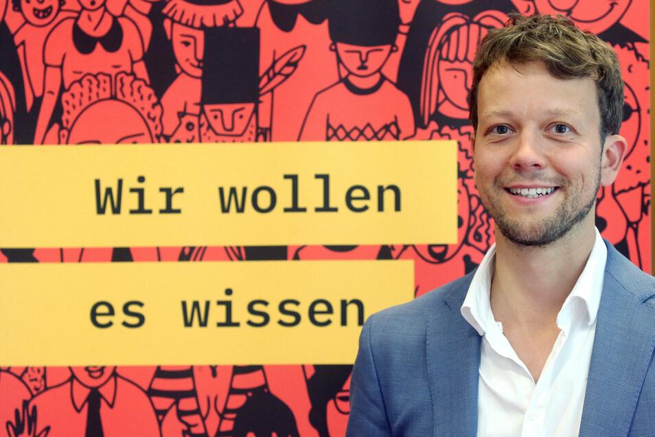 """Michael Bohmeyer ist Initiator des Vereins """"Mein Grundeinkommen"""""""