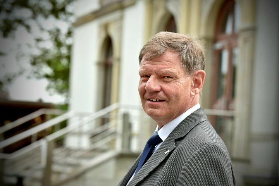 Matthias Schwarzbach leitet die IHK-Geschäftsstelle in Zittau. Seine Kammer vertritt auch die Einzelhändler, Gastronomen und Hoteliers.