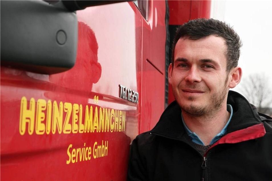 Geschäftsführer Stefan Freund hofft auf den Verbleib mit seiner Firma auf dem Gelände.Stefan Becker