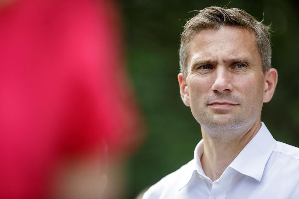 Sachsens Wirtschaftsminister Martin Dulig zieht sich von seinem SPD-Vorsitz zurück.