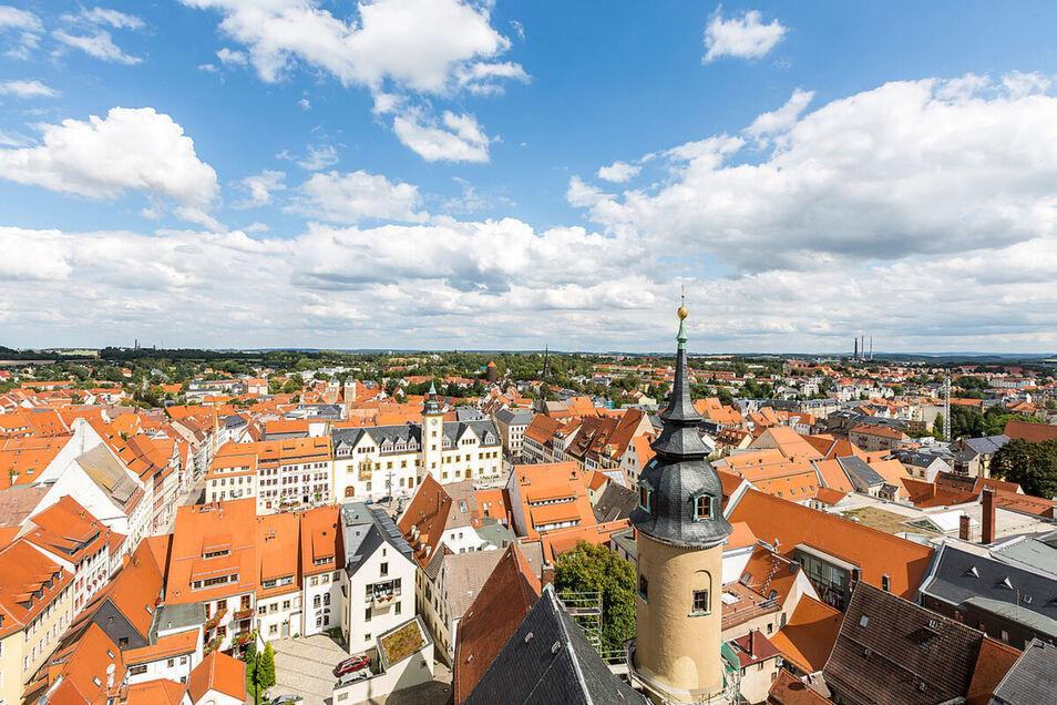 Auch die Altstadt Freibergs ist Bestandteil der Bergbauregion Erzgebirge/Krušnohoří.