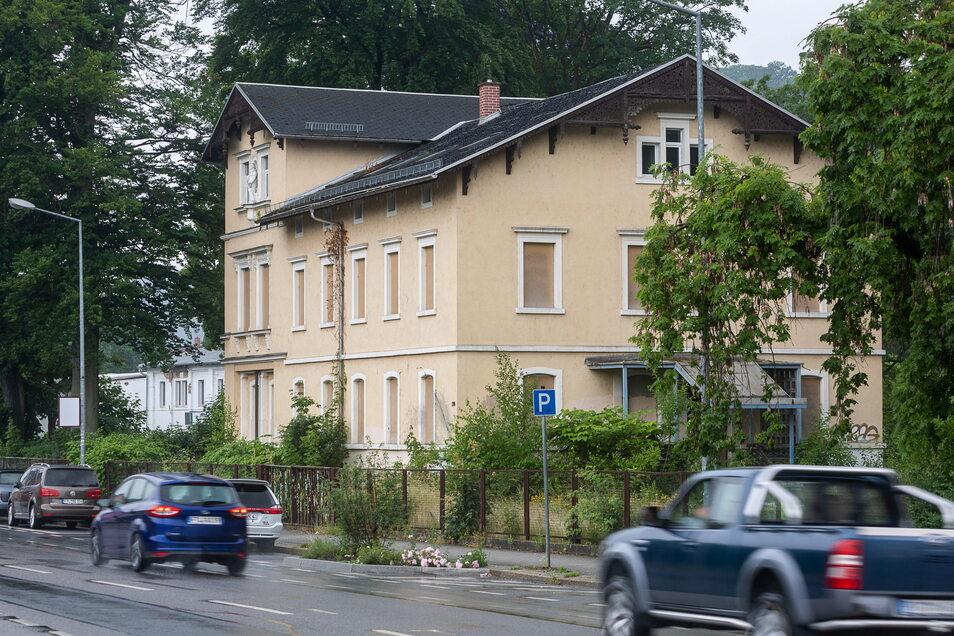 Einst Wohnhaus, später auch Kindergarten und jetzt verkauft: Die Villa wechselt den Besitzer.