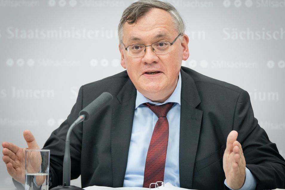Der neue LfV-Präsident Dirk-Martin Christian
