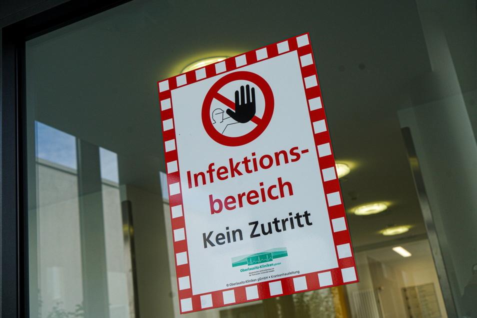17 Corona-Infizierte aus dem Landkreis Bautzen werden derzeit in Kliniken behandelt.