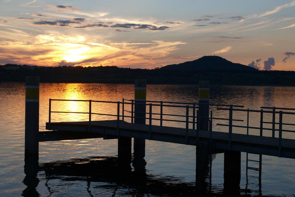 Zum Sonnenuntergang erklingt am 18. und 19. September ein besonderes Konzert am Berzdorfer See.
