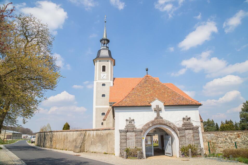 Die Kirche in Diehsa ist als Fahrradkirche über Sachsen hinaus bekannt. Seit Sonntag ist sie wieder eine offene Kirche für Radler und Touristen.