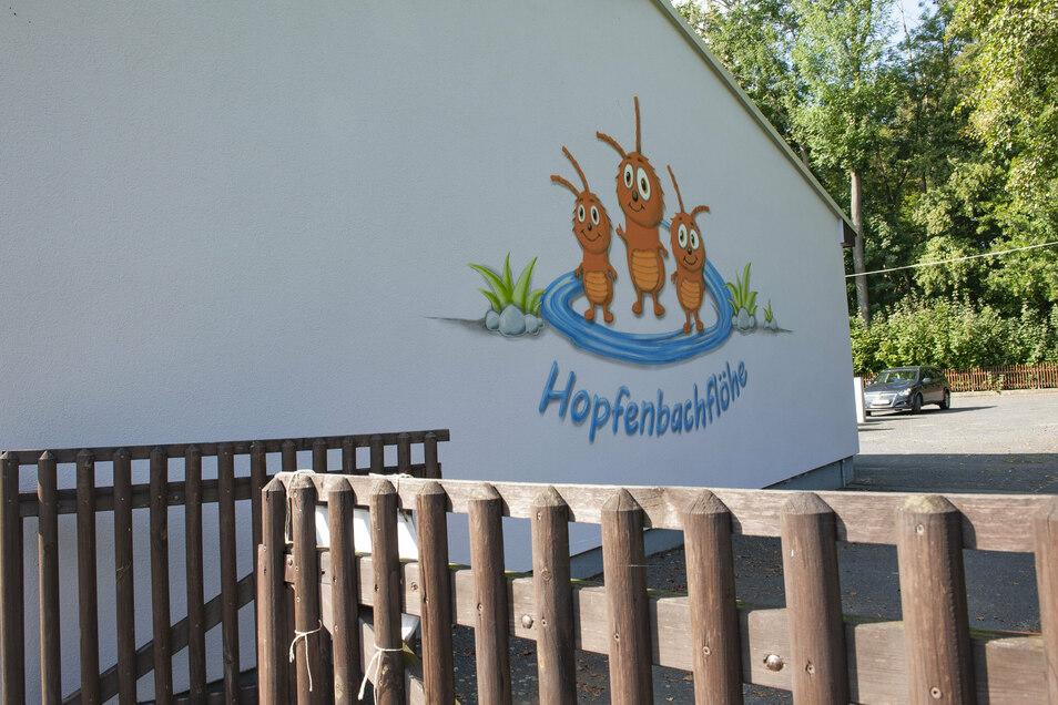 Die Kita Hopfenbachflöhe in Lauterbach bekommt noch schönere und größere Außenanlagen.