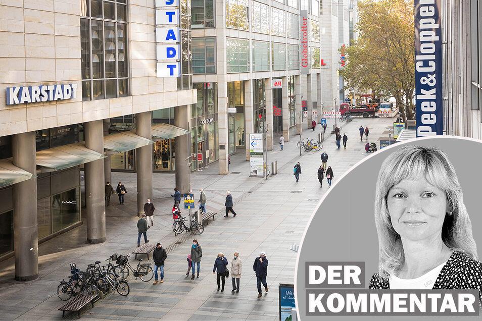 Die Innenstadt muss attraktiver werden, fordert Sächsische.de-Redakteurin Kay Haufe.